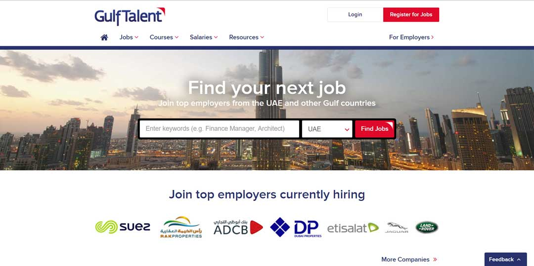 Best Top 8 Job Sites in UAE - UAE Central