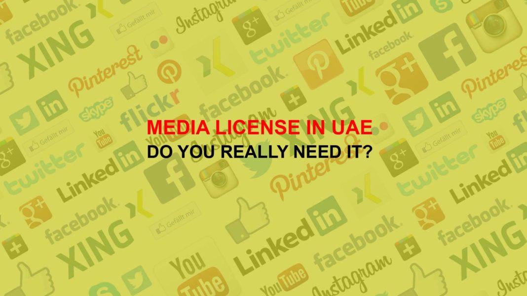 Media License in UAE