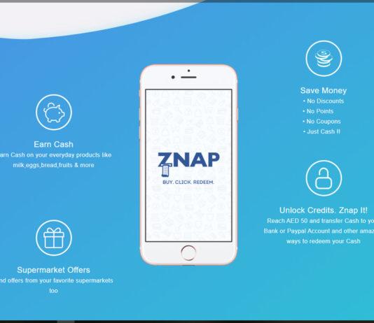 Znap Grocery Cash Back App