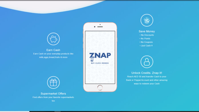 Znap Grocery Cash Back App