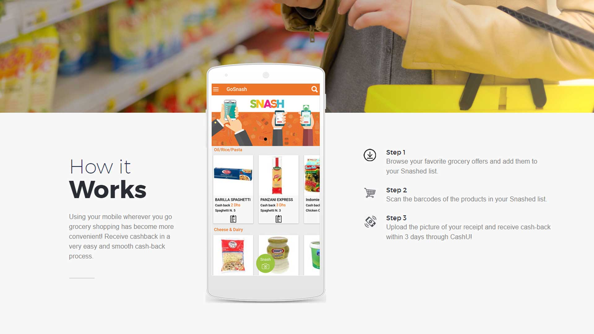CliptheDeal Grocery Cashback App