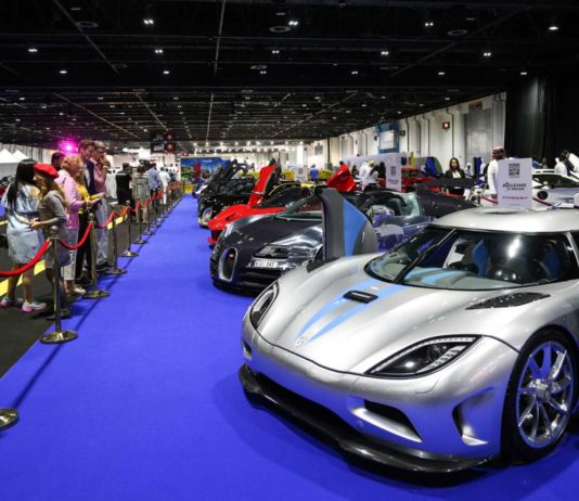 Car Shows in Dubai