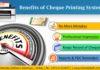 Cheque Printing System Dubai UAE